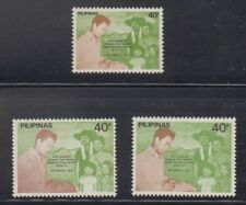 Philippine Stamps 1982 Tenants Emancipation Types 1,2,3 complete MNH