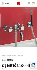 Vola 1641T8 high quality chrome bathtub faucets with handheld spray