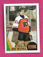 1987-88 OPC # 169 FLYERS RON HEXTALL  ROOKIE NRMT+ CARD (INV# D6623)