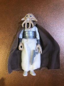 Squid Head With Weapon - Kenner Vintage Star Wars, (1983) COMPLETE Tessek ROTJ
