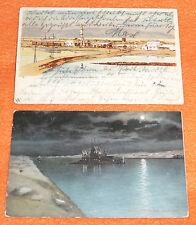 Kriegsmarine Cuxhaven 1904 Tsingtau Kiautschou China Marine Schiffspost No. 4