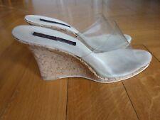Super Sexy Damen Wedges Keil Sandalen von Lucious handmade in U.S.A Gr.42 !