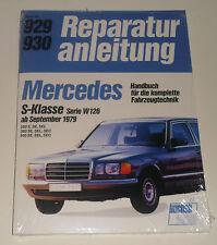 Reparaturanleitung Mercedes W126 S-Klasse 280 / 380 / 500 S / SE / SEL / SEC