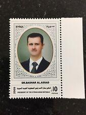 Syria 2009 2010 President Assad Bachar Stamps MNH