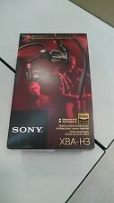Sony XBA-H3 Balanced Armature Earphones RRP 249 £ BARGAIN!
