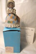 Holly Hobbie Mother's Day Limited Edition Bell Figurine Mib 1981 Remembrance