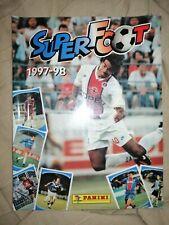 SUPER FOOT 1997-98 SIGILLATO COMPLETO ALBUM PANINI FIGURINE