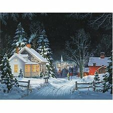 1,000 piece White Mountain jigsaw puzzle***Walking To Town***sealed in bag
