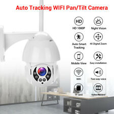 HD 1080P Auto Tracking WiFi Video CCTV Security IP PTZ Camera Wireless Security