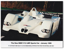 BMW V12 LMR Sports Car. Le Mans. Press Photo - Jan 1999