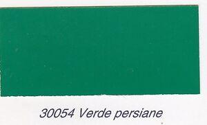 Smalto poliuretanico Clipper Stoppani monocomponente 30054 Verde Persiana Brill
