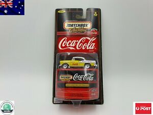 Matchbox Collectables 1998 Coca Cola Die cast 1955 Chevy Bel Air Hard Top 1:64