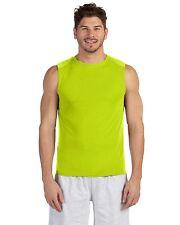 GILDAN Men's Performance dri-fit Sleeveless Muscle T-shirt Workout Sports S-3XL
