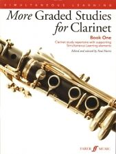 MORE GRADED STUDIES FOR CLARINET Book 1 Harris