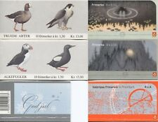 6 NORWAY Stamp Booklets