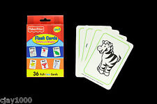 Fisher Price Colours and Shapes Educational Game Learning Flash Cards Preschool