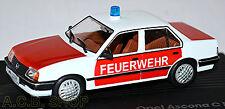 Opel Ascona C Feuerwehr 1982-88 rot-weiß red-white 1:43