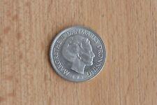 1980 1 Krone Coin Margrethe II Danmarks Dronning from Denmark 2 Good Grade