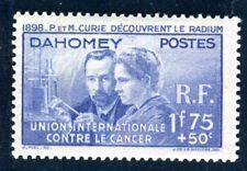 DAHOMEY 1938 Yvert 109 * CURIE TADELLOS (F3605