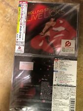 NEW CD: The Rolling Stones: Live Licks: IMPORT: JAPAN