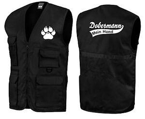 Dobermann | Hundesport-Weste | 10-154 | Trainingsweste | Hundeführer /in