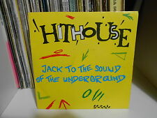"HITHOUSE ""JACK TO THE SOUND OF THE UNDERGROUND"" 7"""
