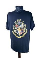 Harry Potter T-Shirt Unisex Size L Black - Draco Dormiens Nunquam Tifinlandus