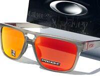 NEW* Oakley CROSSRANGE PATCH Grey ink Ruby PRIZM Sunglass 9382-05 Dispatch 2