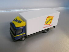 Herpa 901680 MB Atego LKW  Box Trailer Geis 1:87 HO Scale