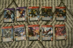 Transformers Trading Card Game Lot of 10 cards