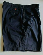 Polo Golf Shorts 42 ins Waist Navy Blue 100 % Cotton