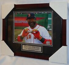 Red Sox David Ortiz World Series Champions 3 Rings Framed Matted Picture 13x16