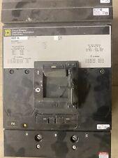Square D Ma36600 Molded Case 600Amp 3 Pole Circuit Breaker Excellent Condition