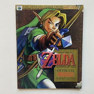 N64 The Legend of Zelda Ocarina Of Time Official Strategy Guide Magazine #1