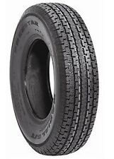 TWO New Trailer Tires ST205/75R15 Radial LOAD D 8 PLY RATED 205 75 15