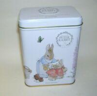 Peter Rabbit Hinged Tin Box