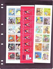 FRANCE BOOKLETS: (20) DIFFERENT COMMEMORATIVES #2099a//#2846a.  SCV $406
