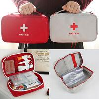 Travel First Aid Kit Emergency Home Camping Bag Bike Car Work Sports Holi.AU