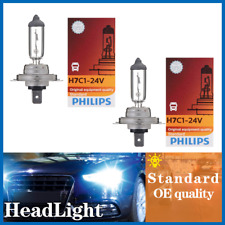 2PCS H7 Philips Headlight Light Bulbs Hi/lo Beam For Audi allroad 2013-14