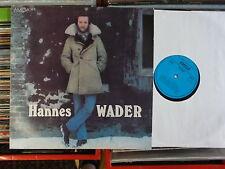 HANNES WADER  DDR AMIGA  LP: HANNES WADER (855635)