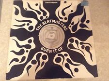 "acid house - the beatmasters - burn it up , limited 12"" vinyl"