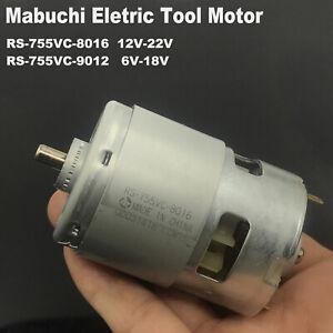 MABUCHI RS-755VC DC 12V-18V High Speed Power Large Torque Electric Drill Motor