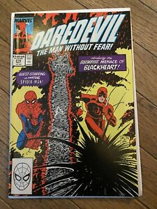 Daredevil #270 - 1st appearance Blackheart w/Spider-man - 1989 VF/NM 9.0