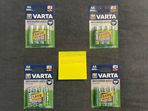 16 piles rechargeables VARTA 2600mah AA