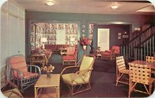 Hotel Interior furniture Idlewhyle Virginia Beach Virginia 1950s Roadside 6784