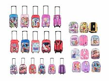 Disney Theme Character Childrens Kids Backpack Trolley Wheel Travel School Bag