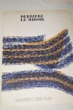 RAOUL UBAC LITHOGRAPHIE 1971 DERRIERE LE MIROIR GRAVURE r722