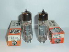 GE 6BM8 ECL82 Tubes, Matched Pair Tested, NOS/NIB