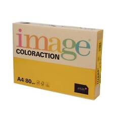 Imagen Coloraction A4 80Gsm Copiar Papel - 500 Sheets (1 Resma) Dorado ( Hawai )