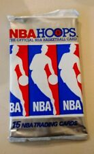 Two (2) 1990-91 NBA Hoops Wax Pack (Red Box) - 15 Cards each